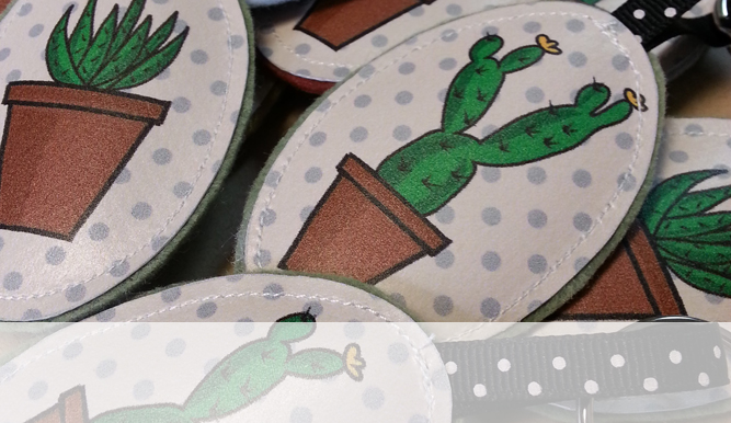 Porte -clefs cactus